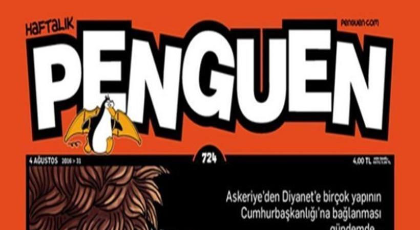 Son Dakika'lar bu hafta Penguen'in kapağında!