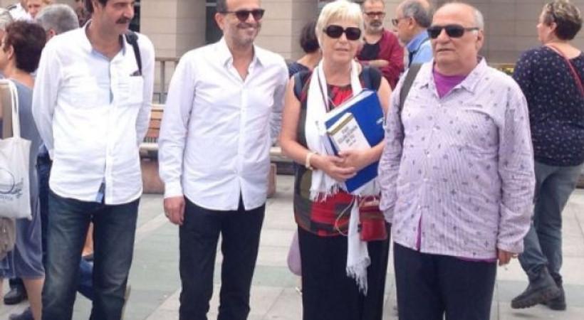 Gazeteciler bugün de adliye koridorlarında!