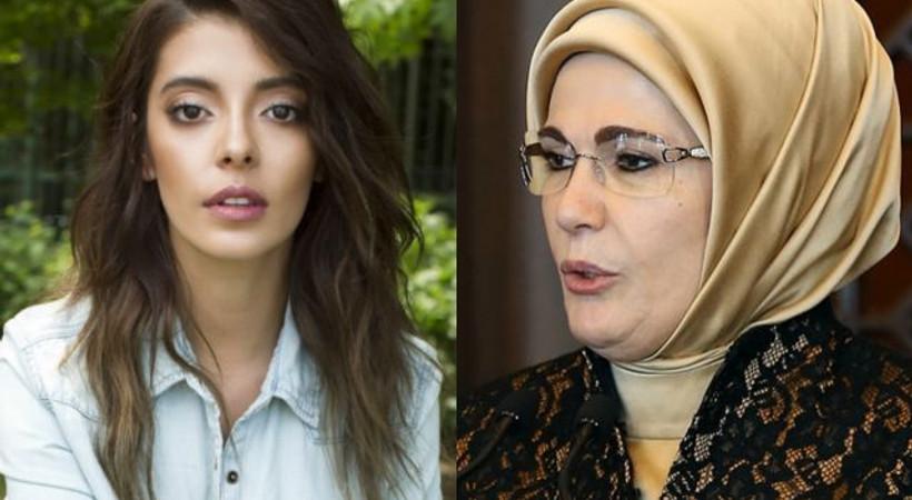 Ünlü oyuncu Emine Erdoğan'dan özür diledi!