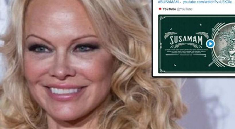 Pamela Anderson'dan #Susamam paylaşımı!