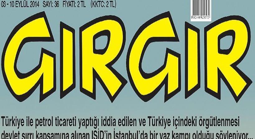 IŞİD militanları Gırgır'a kapak oldu: Kankalarla yeni Türkiye keyfi