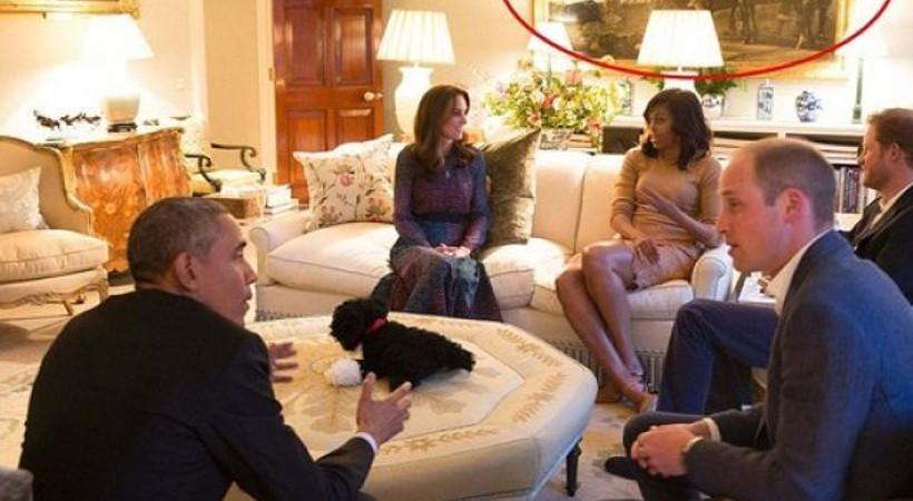 Dünya bunu konuşuyor: Obama çiftinin ziyaretinde skandalın eşiğinden dönüldü!