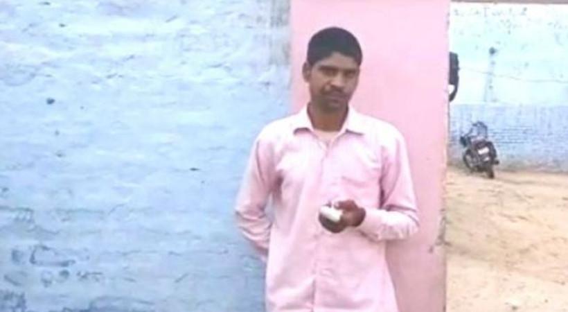 Hint seçmen yanlış partiye oy verdiği için işaret parmağını kesti