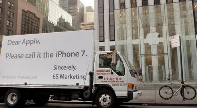 Apple'a iPhone 7 baskısı!