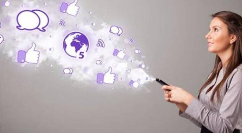 Kadınlar, sosyal medyada daha aktif