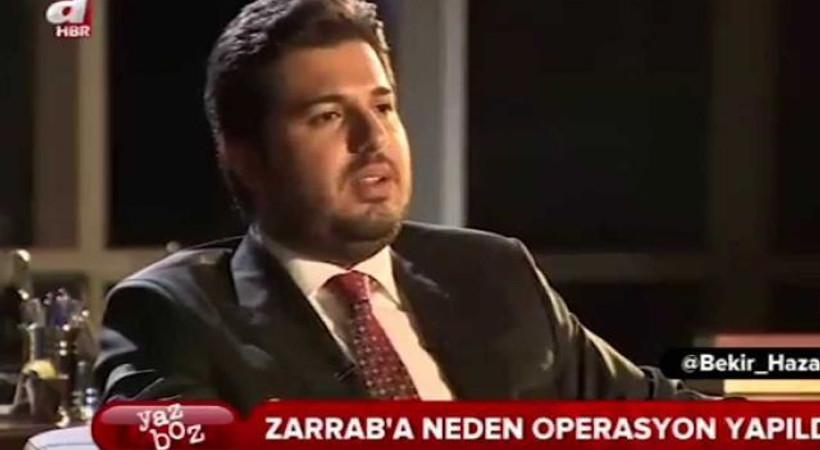 Zarrab'ın A Haber'deki açıklamaları delil oldu!