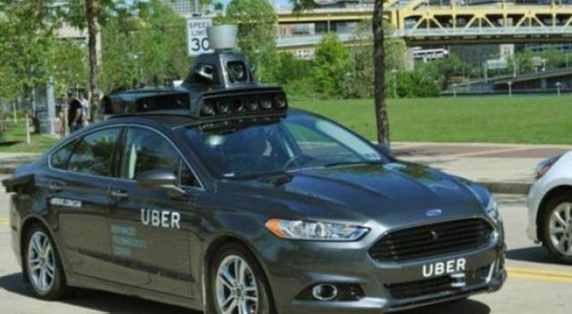 Uber, sürücüsüz otomobil için düğmeye bastı!