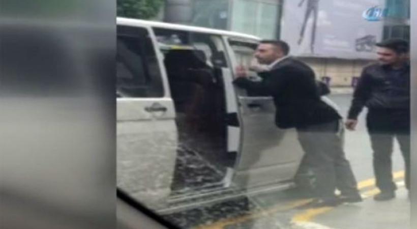 Atatürk Havalimanı'nda UBER sürücüsüne saldırı!