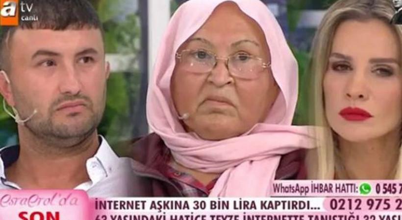 Esra Erol'da dolandırıcı canlı yayında gözaltına alındı!