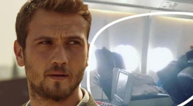 Aras Bulut İynemli uçakta bu halde yakalandı!
