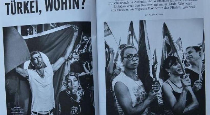 Alman Spiegel dergisi Türkiye'yi mercek altına aldı