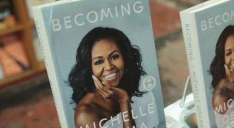 Michelle Obama'nın kitabı 10 milyondan fazla sattı!