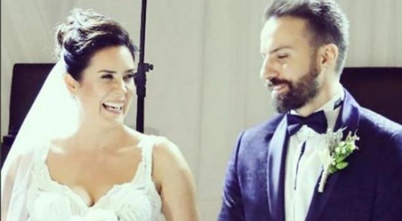 Düğüne ünlü akını! Oyuncu çift evlendi