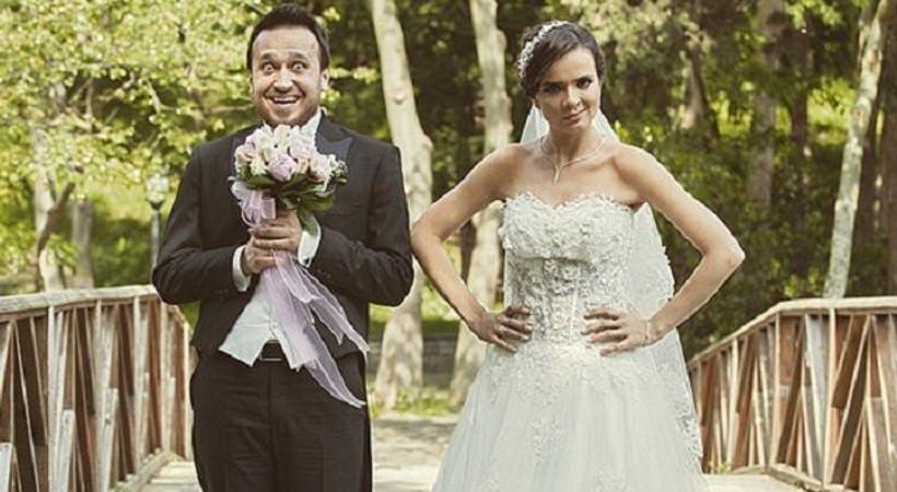 Dizideki nikah sahnesi gerçek oldu