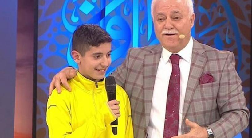 Nihat Hatipoğlu'ndan 13 yaşındaki çocuğun canlı yayında Müslüman olmasına dair açıklama: Aile söylemini değiştirdi