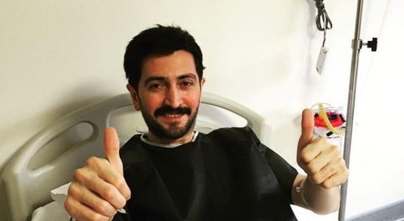 Şarkıcı Ferman Toprak hastaneye kaldırıldı