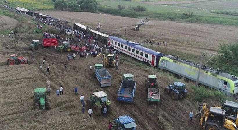 Çorlu'daki tren kazasına ilişkin geçici yayın yasağı getirildi