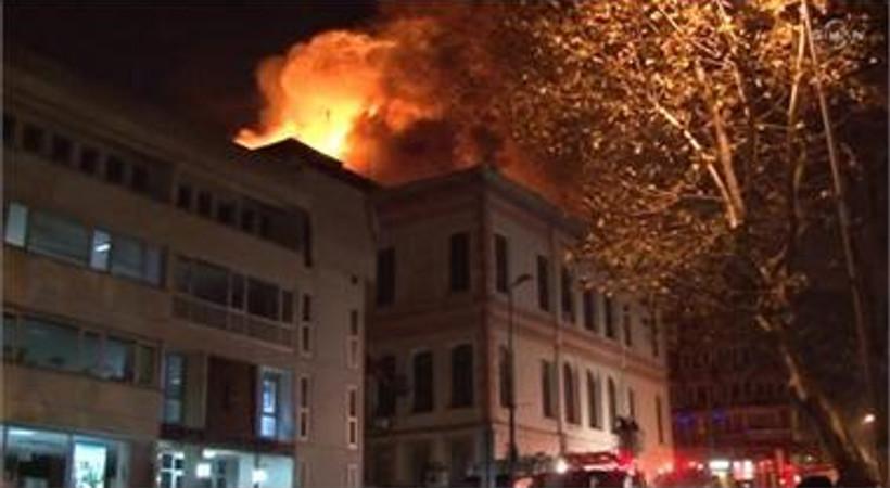 İstanbul Milli Eğitim Müdürü'nden yangın açıklaması