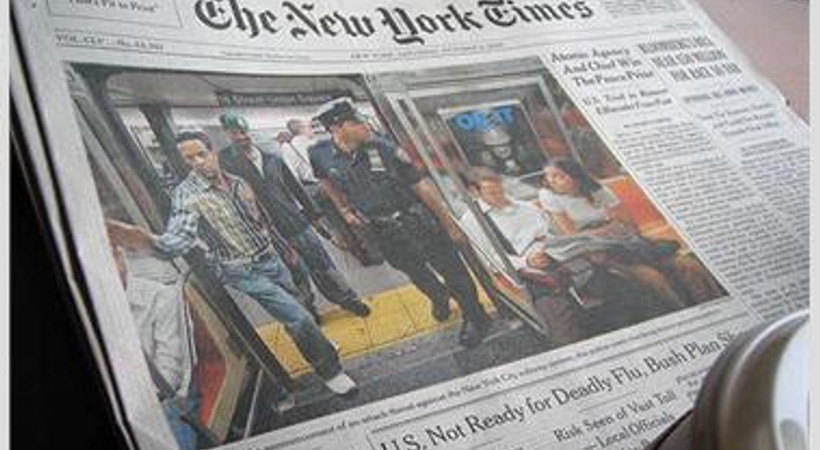 Soner Yalçın'ın tahliyesi New York Times'ta