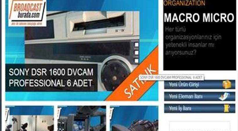 Televizyoncular için alışveriş sitesi
