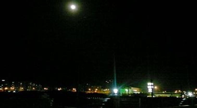 Mersin'de Dolunay