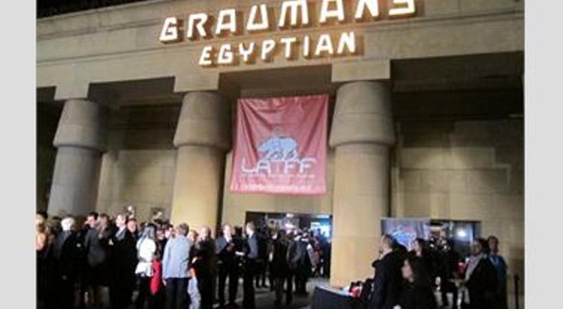 """""""Kelebeğin Rüyası"""" filmi Hollywood'ta Türk Filmleri Festivali'nin açılışındaydı"""