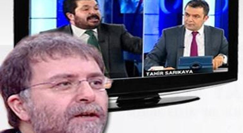 Ahmet Hakan'a canlı yayında tehdit