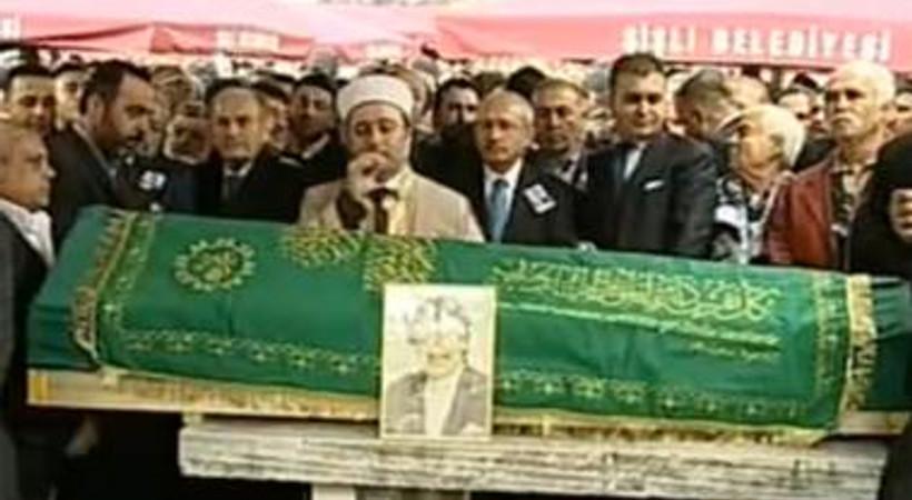 Müslüm Gürses'in cenazesinde sürpriz çelenk