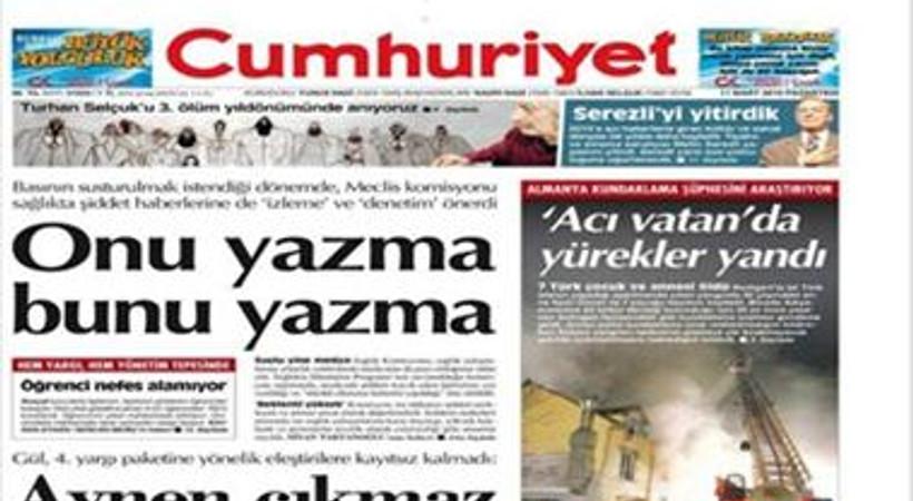 Cumhuriyet Turhan Selçuk'u unutmadı