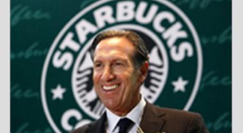 Starbucks CEO'su resti çekti