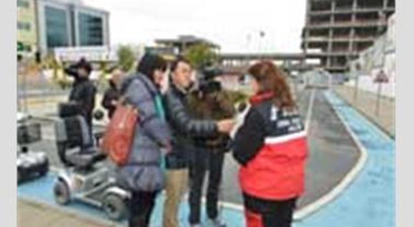Japon televizyon kanalı İstanbul'da