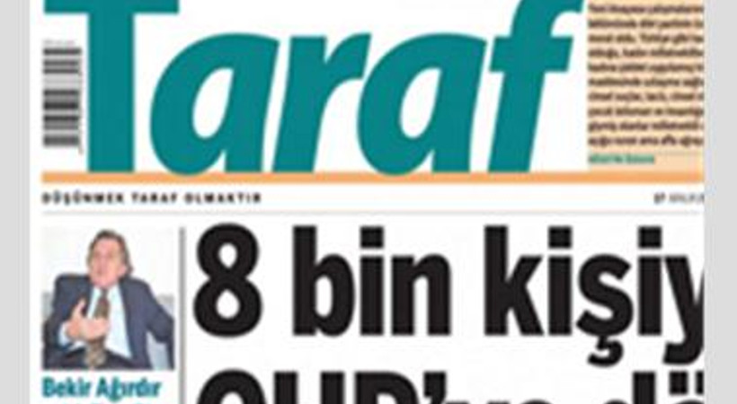 Taraf'a bugün iki köşe yazarı daha veda etti