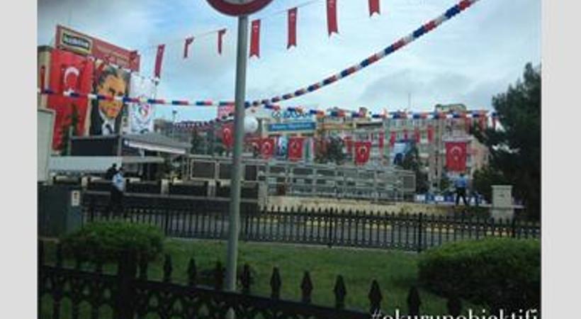 Samsun Meydanı 19 Mayıs hazırlıkları