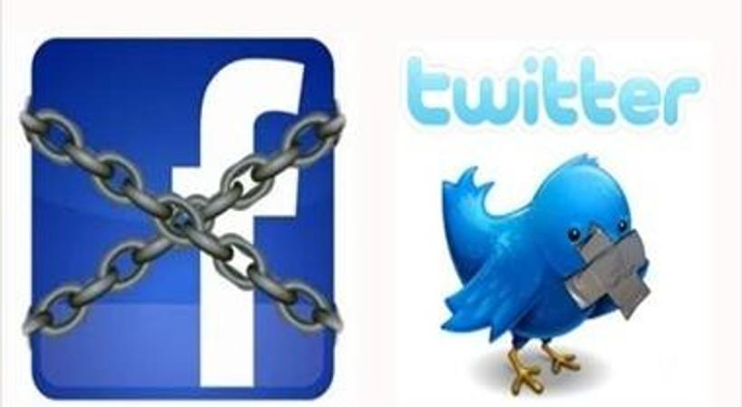 Facebook ve twitter'a sansür mü var?