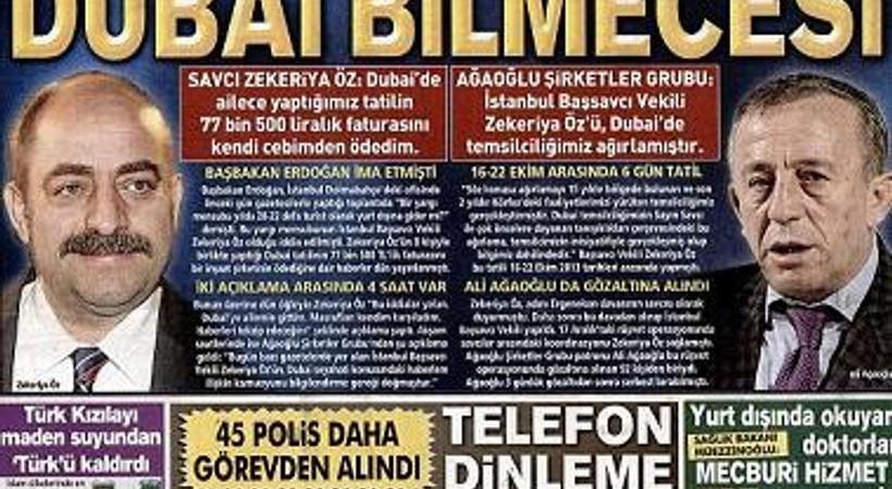 Ağaoğlu'nun 'Savcı Öz'ü Dubai'ye biz gönderdik' açıklaması manşetlere damga vurdu!