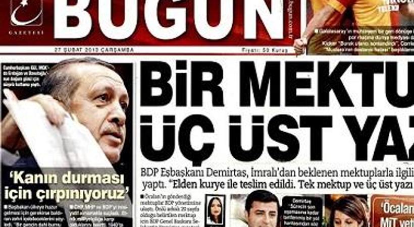 'Ahlaksızlık'la suçlanan Bugün gazetesi için İpek Medya Grubu'ndan açıklama!