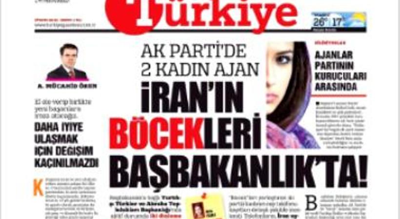 'AK Parti'de böcek' haberini yazan muhabire dava!