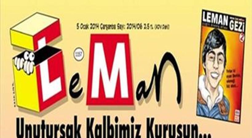 Ali İsmail Korkmaz ve Mehmet Ayvalıtaş bu hafta LeMan'ın kapağında