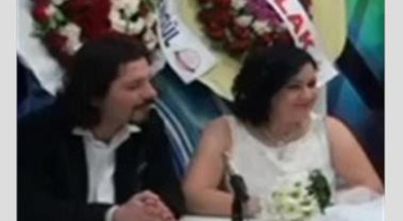 Ana haber bülteninde nikah heyecanı!