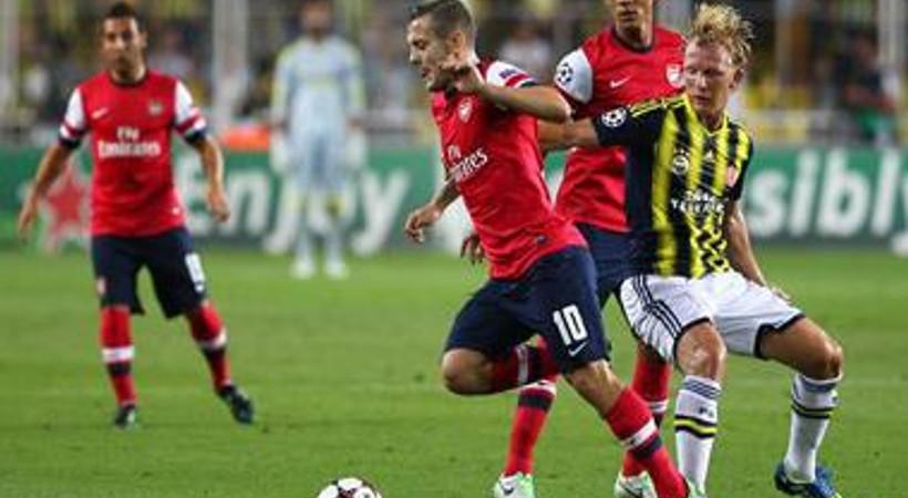 Arsenal - Fenerbahçe karşılaşması ekrana damga vurdu! İşte reytingler!