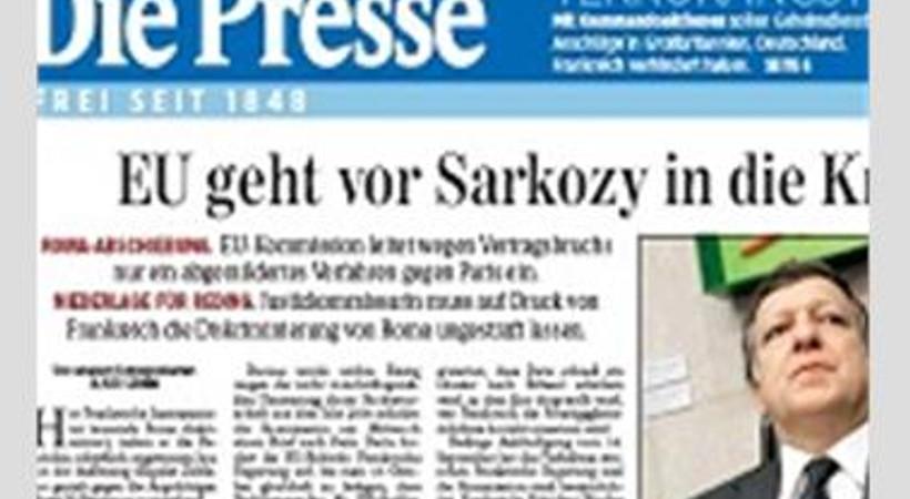 Avusturya gazetesinden Türkiye'ye 'muz cumhuriyeti' benzetmesi!