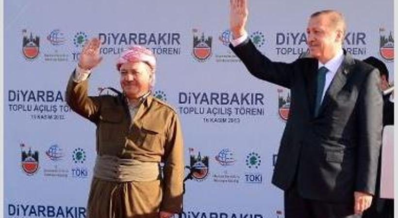 Barzani'nin gelişiyle o kanal yayına başladı!
