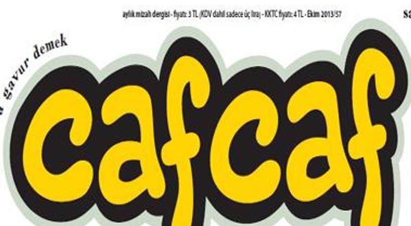 Bir çapulcunun bayram ziyareti, Cafcaf mizah dergisinin kapağında!