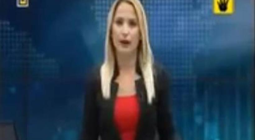 Canlı yayında Mısır için ağladı