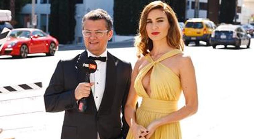 Cengiz Semercioğlu ve Ece Sükan, Hollywood yıldızlarıyla bir arada!