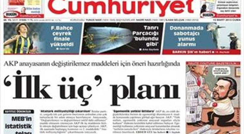 Cumhuriyet Gazetesi ile anlaşan ünlü yazar yazılarına ne zaman başlayacak?