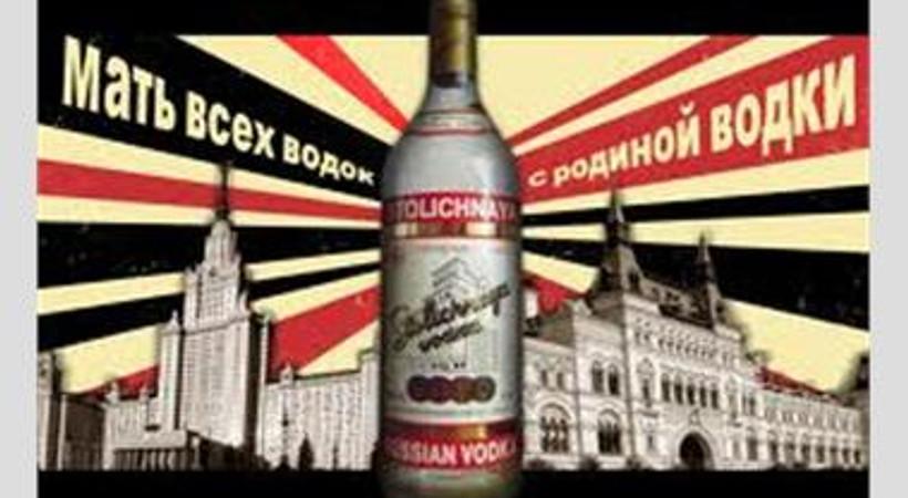 Eşcinsellerden Rus votkasına boykot
