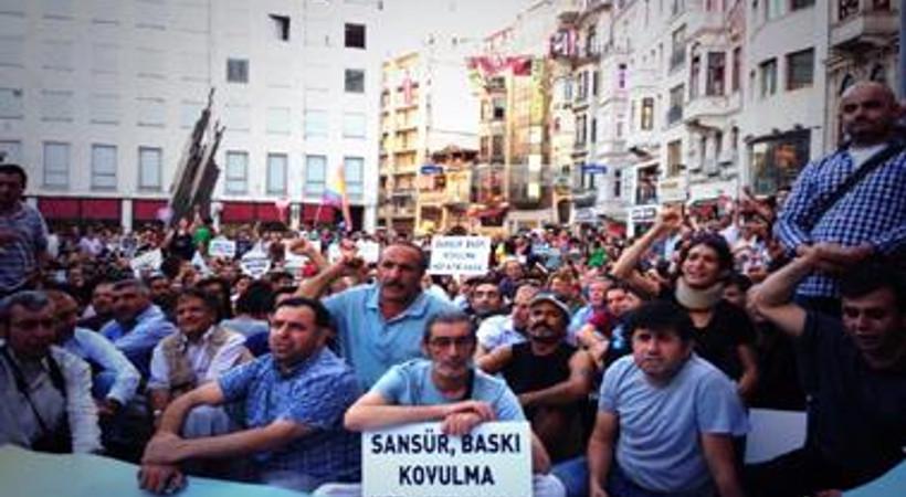 Gezi direnişi sürecinde 22 gazeteci işten atıldı, 14'ü zorunlu izne gönderildi, 37'si istifa etti. Medyada kıyıma son!