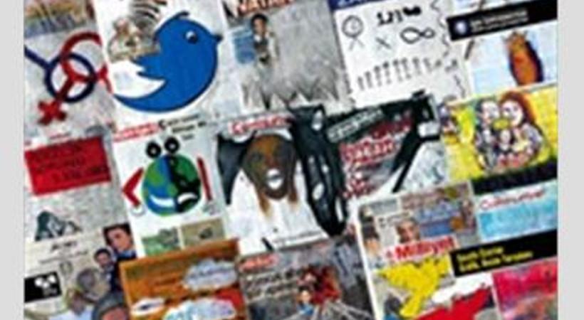 Günlük gazeteler sanat eseri tadında sergiye çıktı