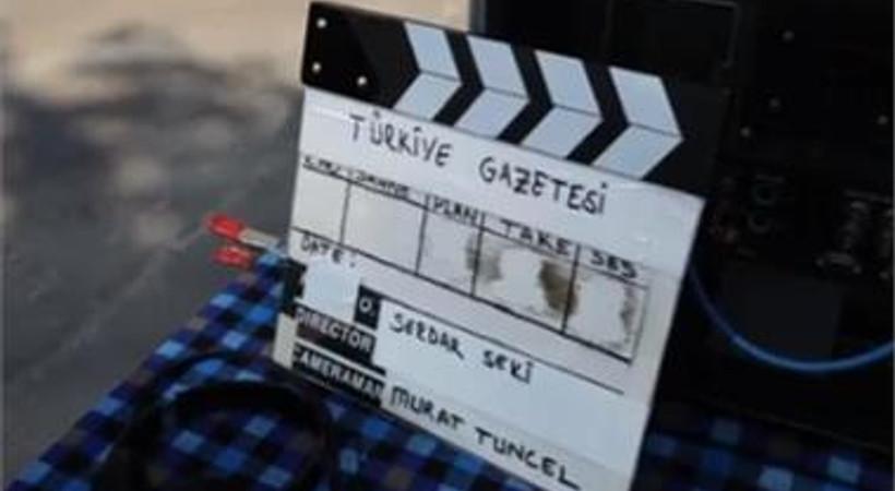 İşte Türkiye Gazetesi'nin yeni reklam filminin kamera arkası görüntüleri!